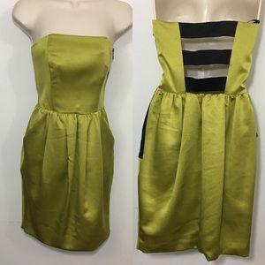 Rachel Rachel Roy free strapless cutout back dress